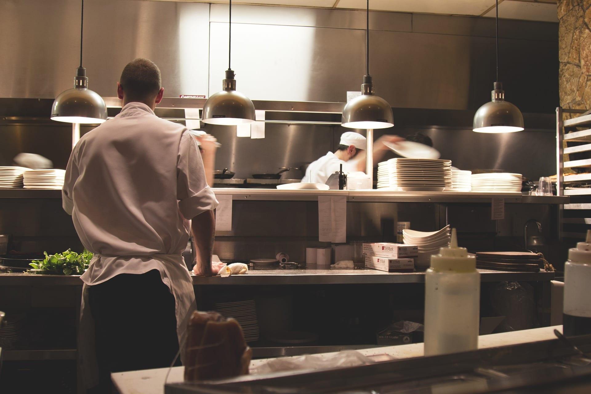 Edelstahl in der Küche