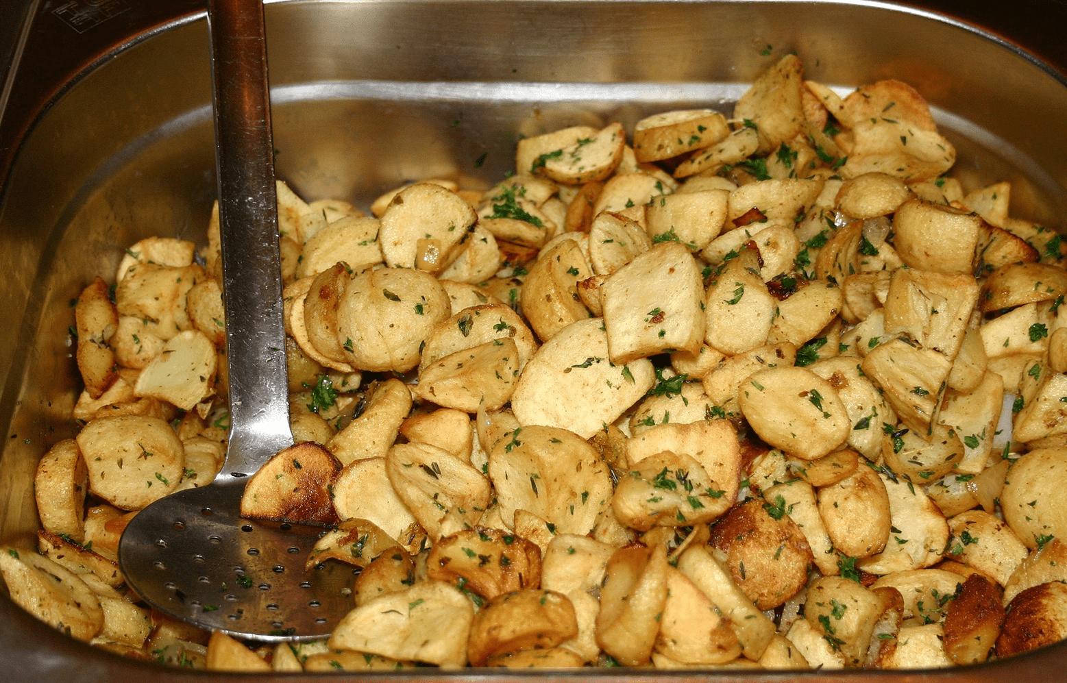 Kartoffeln im Dampfgarer