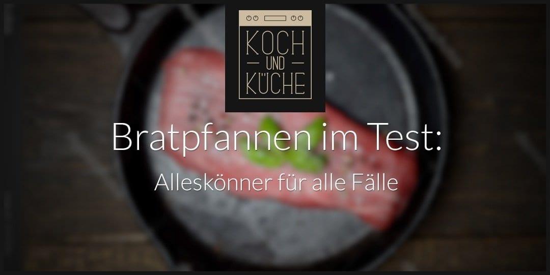 ᐅ Bratpfannen-Test – Die besten Pfannen im Vergleich