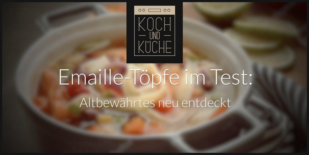 ᐅ Emaille-Topf im Test – Vorteile von Kochgeschirr mit Emaille-Beschichtung