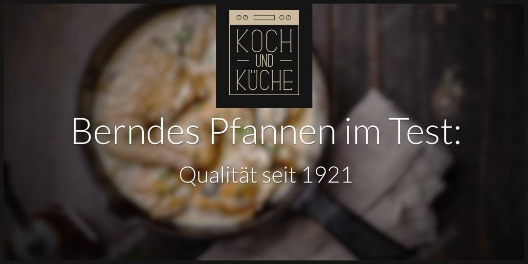 ᐅ Berndes Pfanne Test