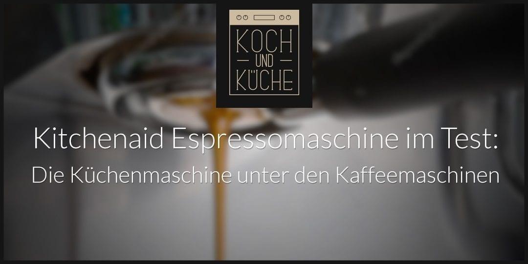 ᐅ Kitchenaid Espressomaschine im Test: Hochpreisiger Klassiker im Retro-Design